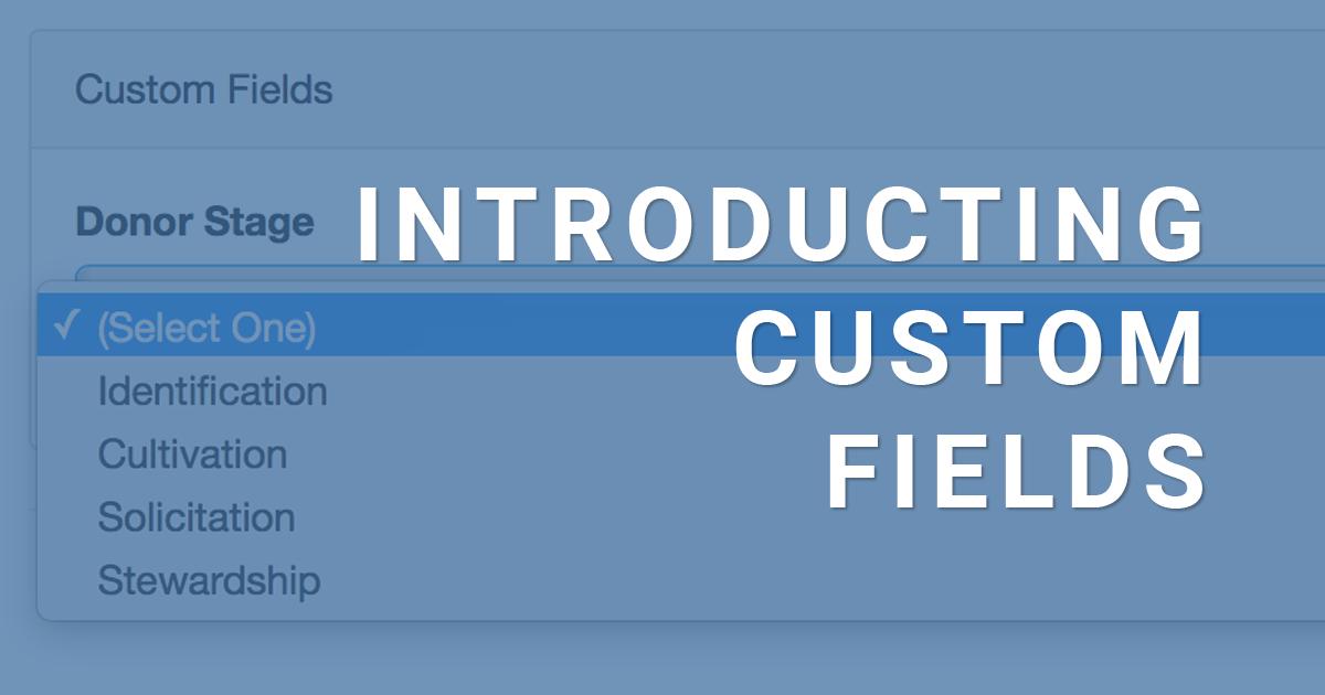 Introducing Custom Fields